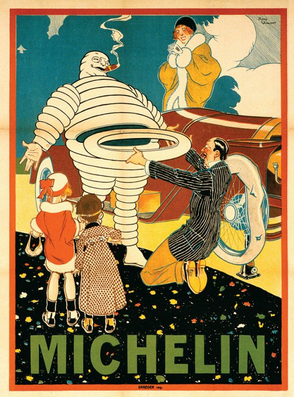 Michelin Adamı - 1914