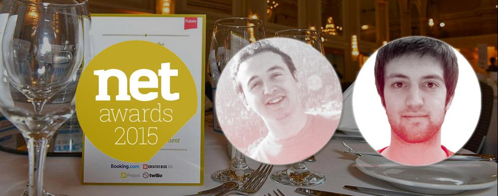 Net Magazine Ödülleri'nde İki Türk