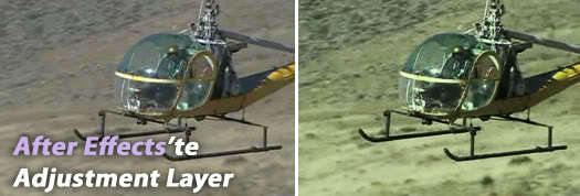 After Effects'te Adjustment Layer – Videolu Ders