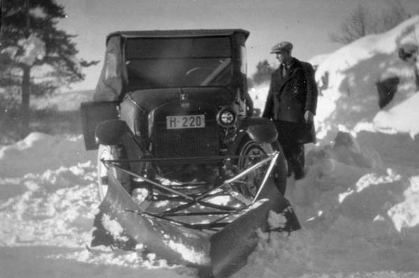 Eskinin Kar Küreme Araçları