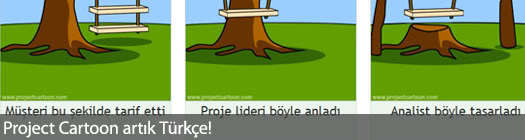 Project Cartoon artık Türkçe!