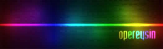 Photoshop'la renkli ışık efekti