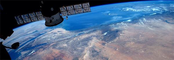 Şimşekler Uzaydan Nasıl Görünüyor?