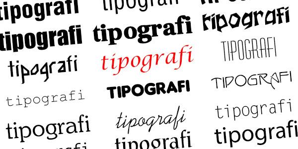 5 Adımda Doğru Tipografi : Bölüm 3