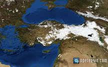 Türkiye Uydu Fotoğrafı – Duvar Kağıdı