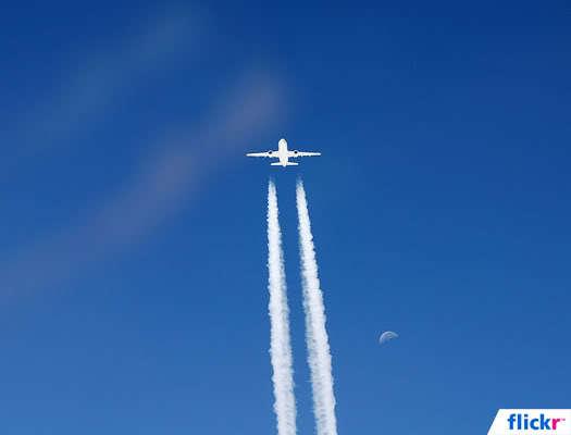 Neden her uçak arkasında iz bırakmıyor?