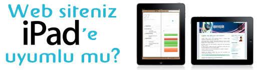 Web siteniz iPad'e uyumlu mu?